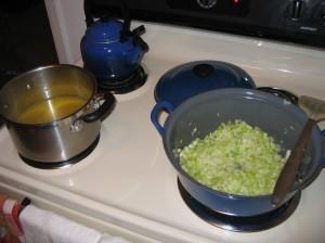 Cooking Begins