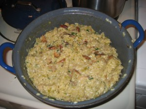 Risotto when Finished