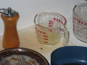 The Forgotten Lemon Juice